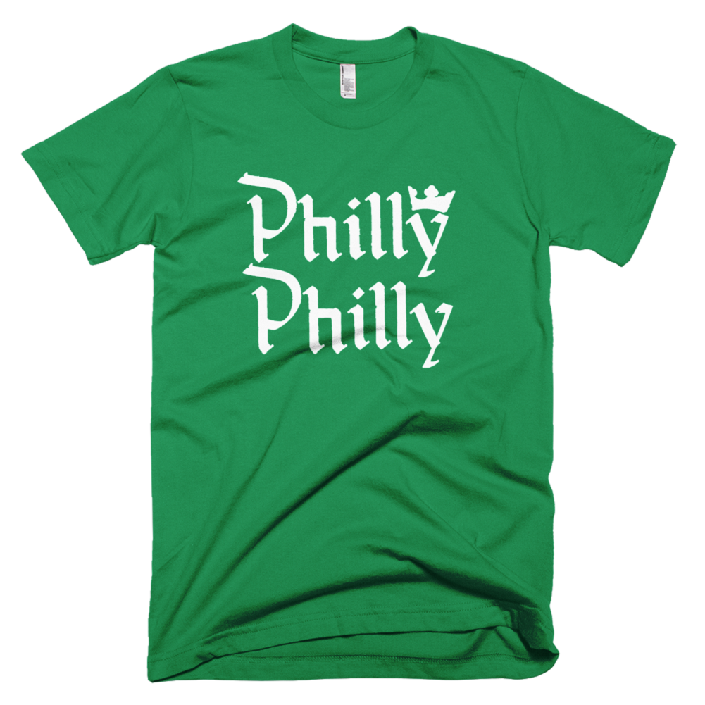 Philly Philly Kelly Green Tshirt