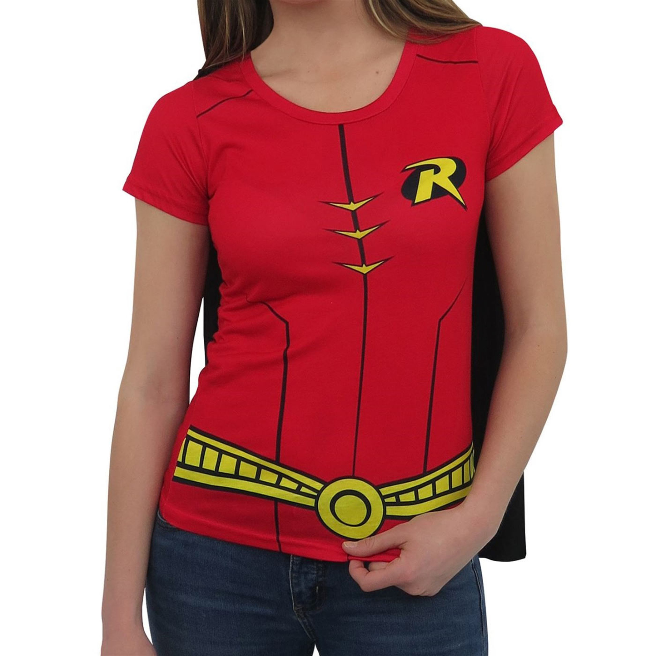 Robin Sublimated Caped Women's T-Shirt
