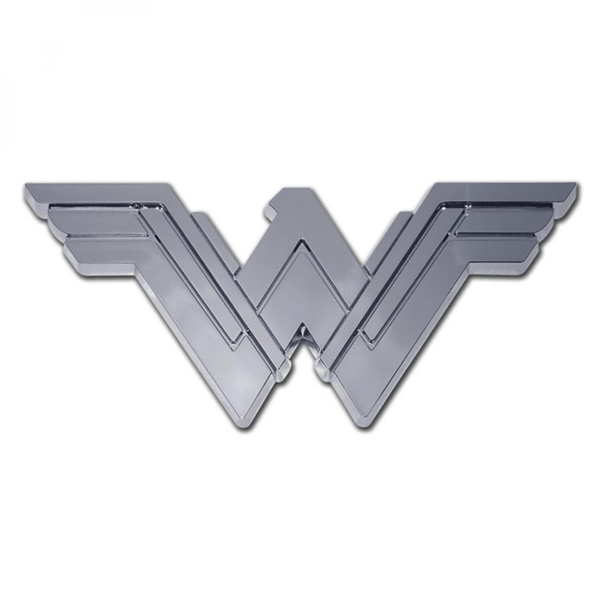 Wonder Woman Chrome Emblem