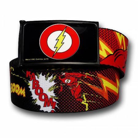 Flash Graphic Kids Web Belt