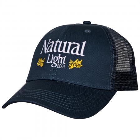 Natural Light Beer Vintage Laurels Adjustable Snapback Hat