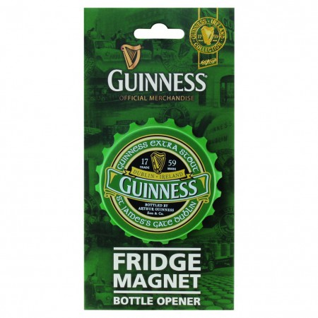 Guinness Ireland Fridge Mounted Bottle Cap Bottle Opener
