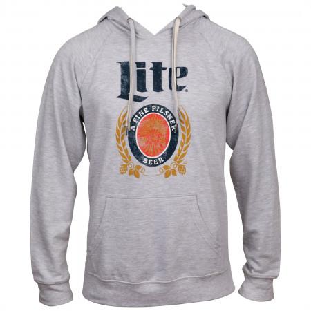 Miller Lite A Fine Pilsner Beer Crest Hoodie