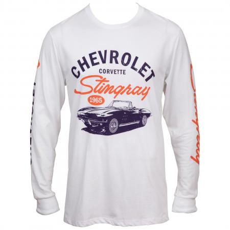 Chevrolet Stingray Symbol Long Sleeve with Sleeve Prints