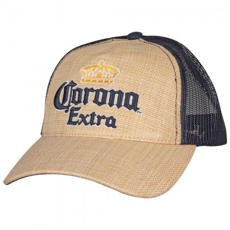 Corona Extra Logo Adjustable Snapback Mesh Trucker Hat