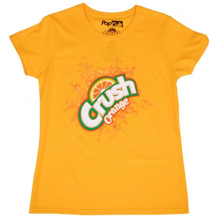 Orange Crush Symbol Women's T-Shirt