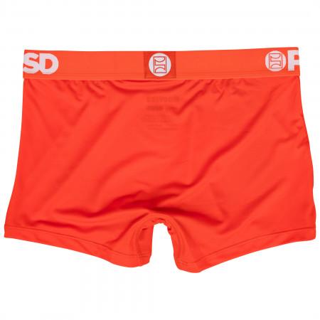 Hooters Restaurant Uniform Microfiber Blend Boy Shorts Underwear