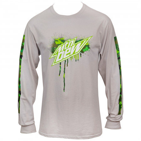 Mountain Dew Symbol Long Sleeve with Sleeve Prints
