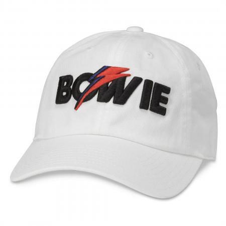 David Bowie Embroidered Logo Adjustable Hat