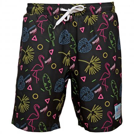 Natural Light Naturdays Retro Flamigo Tropical Bros Swimsuit