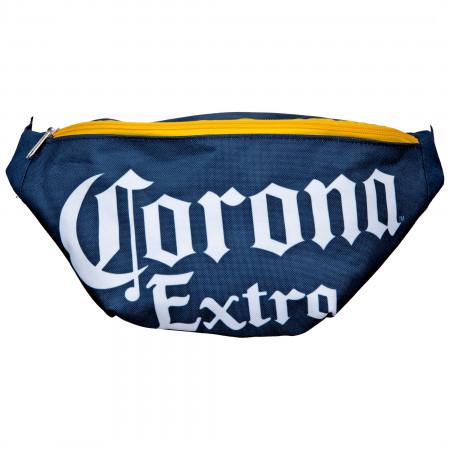 Corona Extra Text Brand Fanny Pack