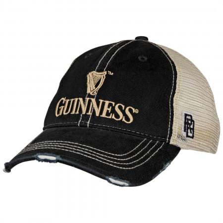 Guinness Harp Logo Mesh Trucker Hat