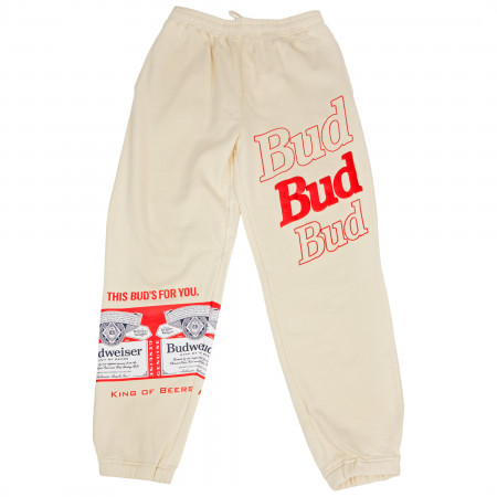 Budweiser This Bud's For You Fleece Sweatpant Joggers