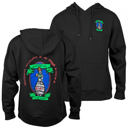 Dead Guy Full Color Logo Front and Back Print Hoodie