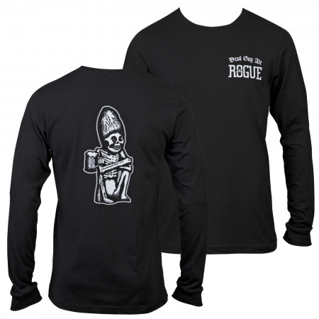 Dead Guy Classic Logo Front and Back Print Long Sleeve Shirt