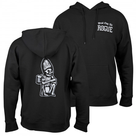 Dead Guy Classic Logo Front and Back Print Hoodie