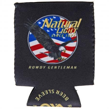Natural Light Since 1977 Rowdy Gentleman Can Cooler