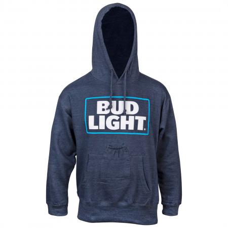 Bud Light Blue Beer Pouch Hoodie