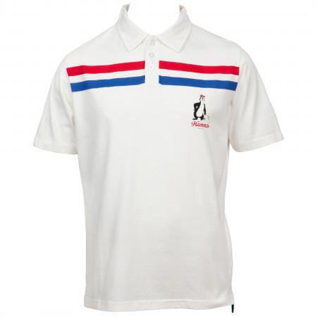 Hamm's Beer Logo Stripes Polo Shirt