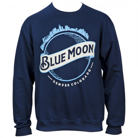 Blue Moon Classic Logo Crewneck Sweatshirt