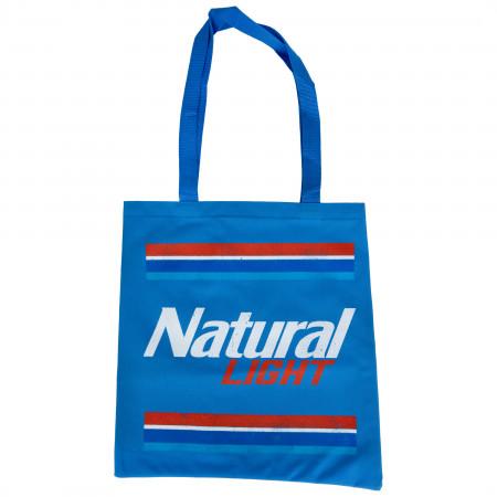 Natural Light Label Logo Tote Bag