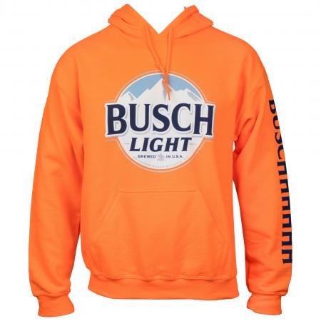 Busch Light Hunter Orange Hoodie