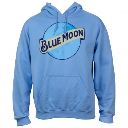 Blue Moon Classic Logo Baby Blue Hoodie