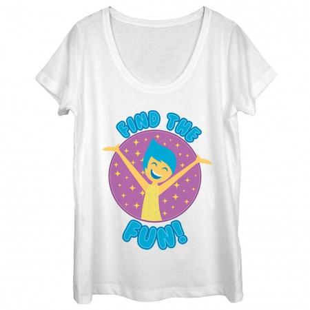 Disney Pixar Inside Out Fun Find White T-Shirt