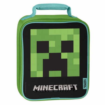 Minecraft Thermos Soft Lunch Bag