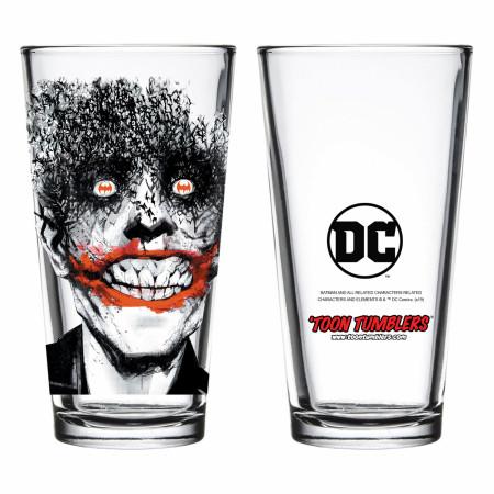 Joker from Detective Comics #880 Pint Glass
