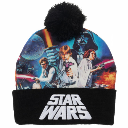 Star Wars Sublimated Crown Beanie