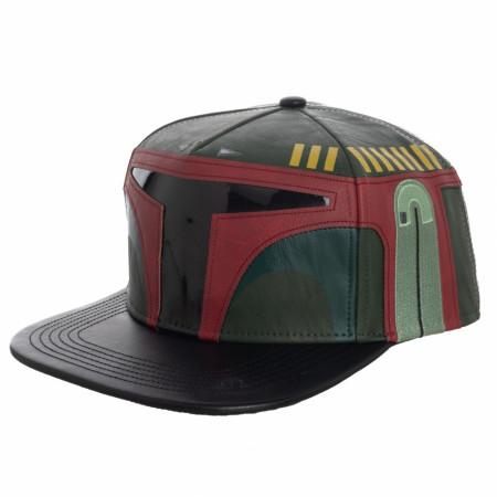 Boba Fett Sound Chip Embroidered Snapback Hat