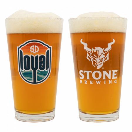 Stone Brewing Loyal Pint Glass