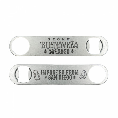 Stone Buenaveza Salt & Lime Lager Bartender Bottle Opener