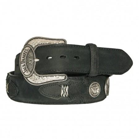 Jack Daniels Western Billets Rawhide Belt