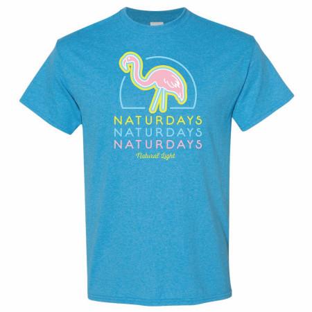 Naturdays Flamingo Sapphire Colorway T-Shirt