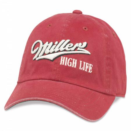 Miller High Life Underside Girl In The Moon Hat