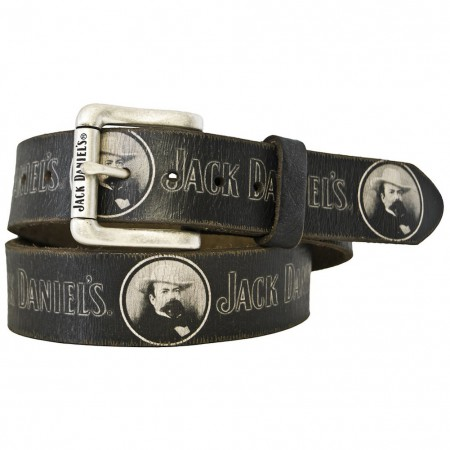 Jack Daniels Portrait Print Belt
