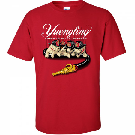 Yuengling Fire Dogs Red T-Shirt