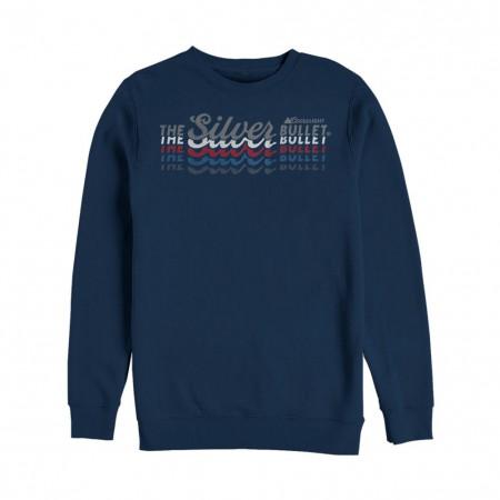 Coors Silver Bullet Multi Color Logo Crewneck Sweatshirt