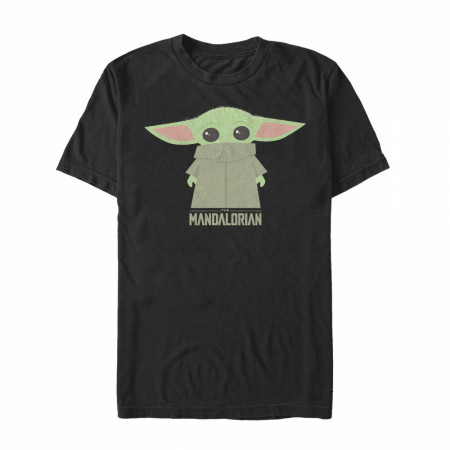 The Mandalorian The Child Cartoon Style T-Shirt