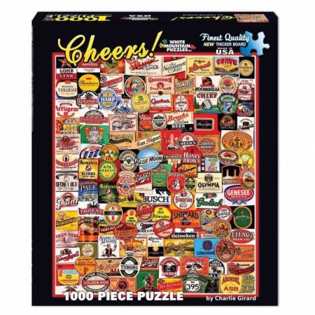 Cheers! Beer Brands 1000pc Puzzle