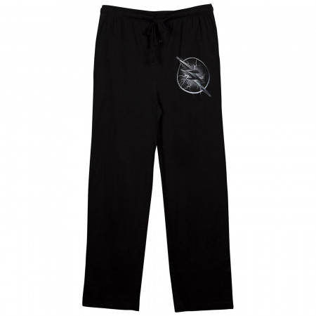 Zoom Blue Lightning Logo Black Unisex Sleep Pants
