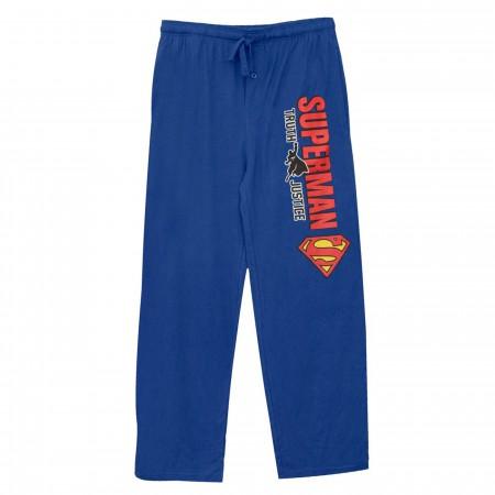 Superman Truth Justice Unisex Sleep Pants
