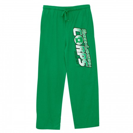 Green Lantern Corp Logo Unisex Sleep Pants