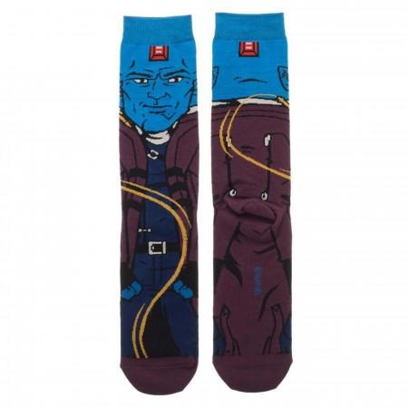 Guardians of the Galaxy Yondu Character Crew Sock