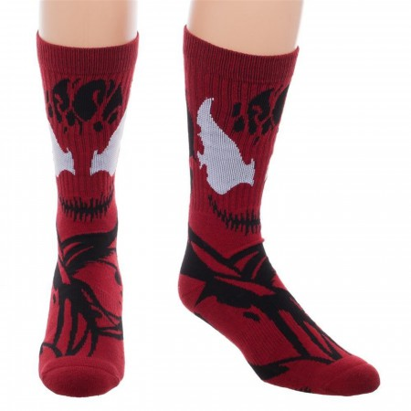 Carnage Character Costume Crew Socks