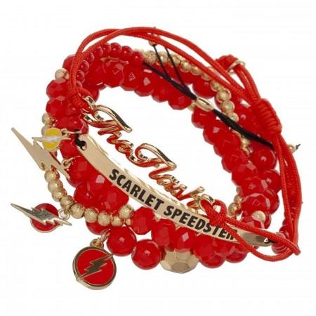 Flash Icon Arm Party Bracelet Set