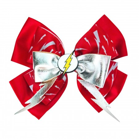 Flash Icon Cheer Bow
