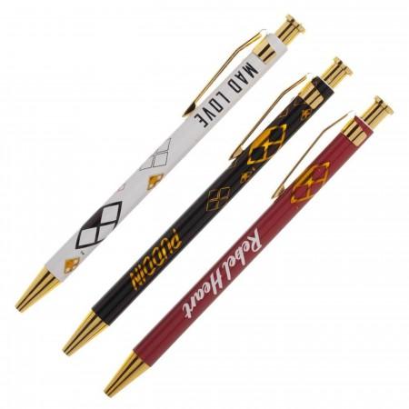 Harley Quinn 3 Pack Pens